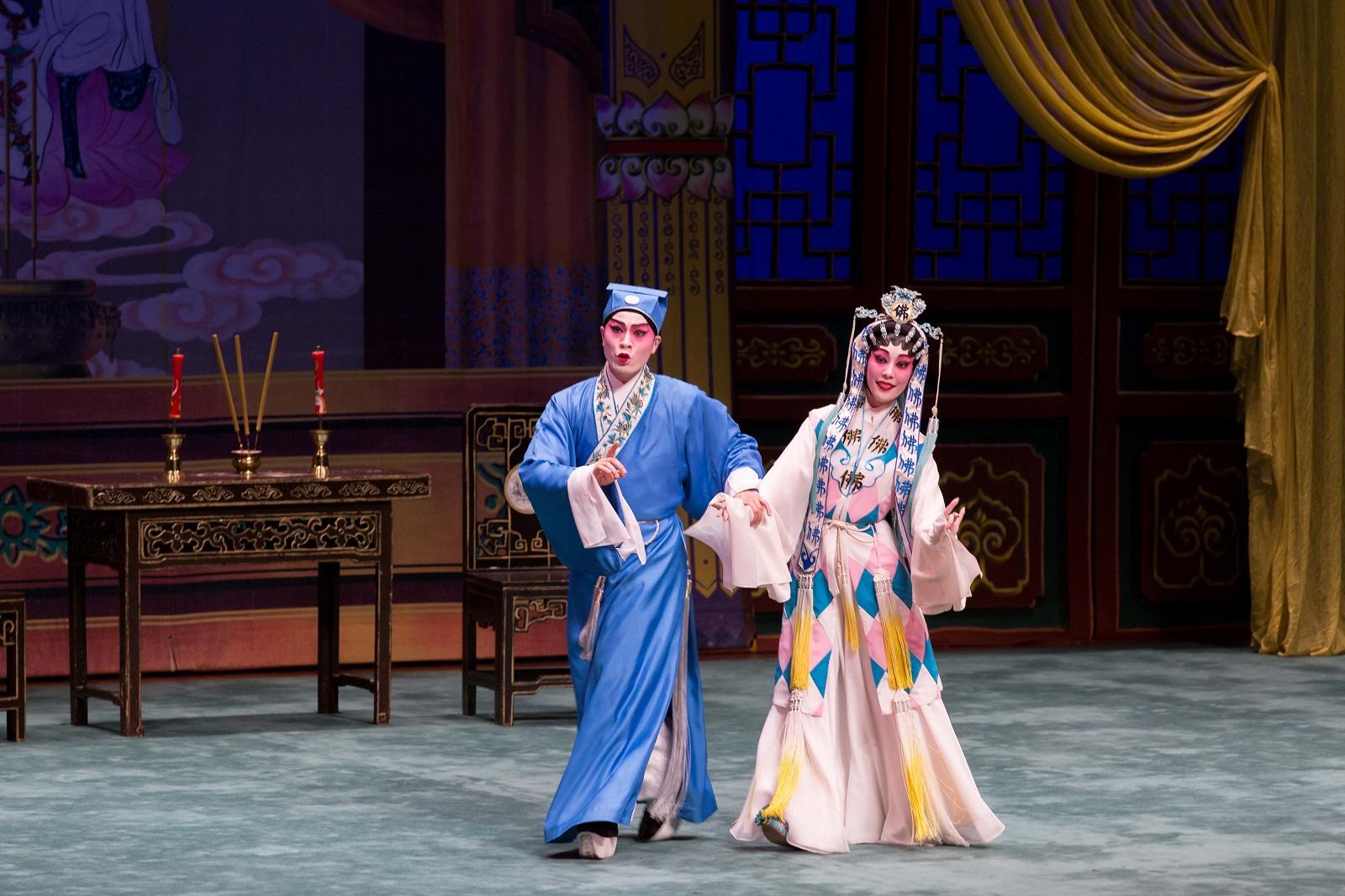Cantonese opera performance. (2017)