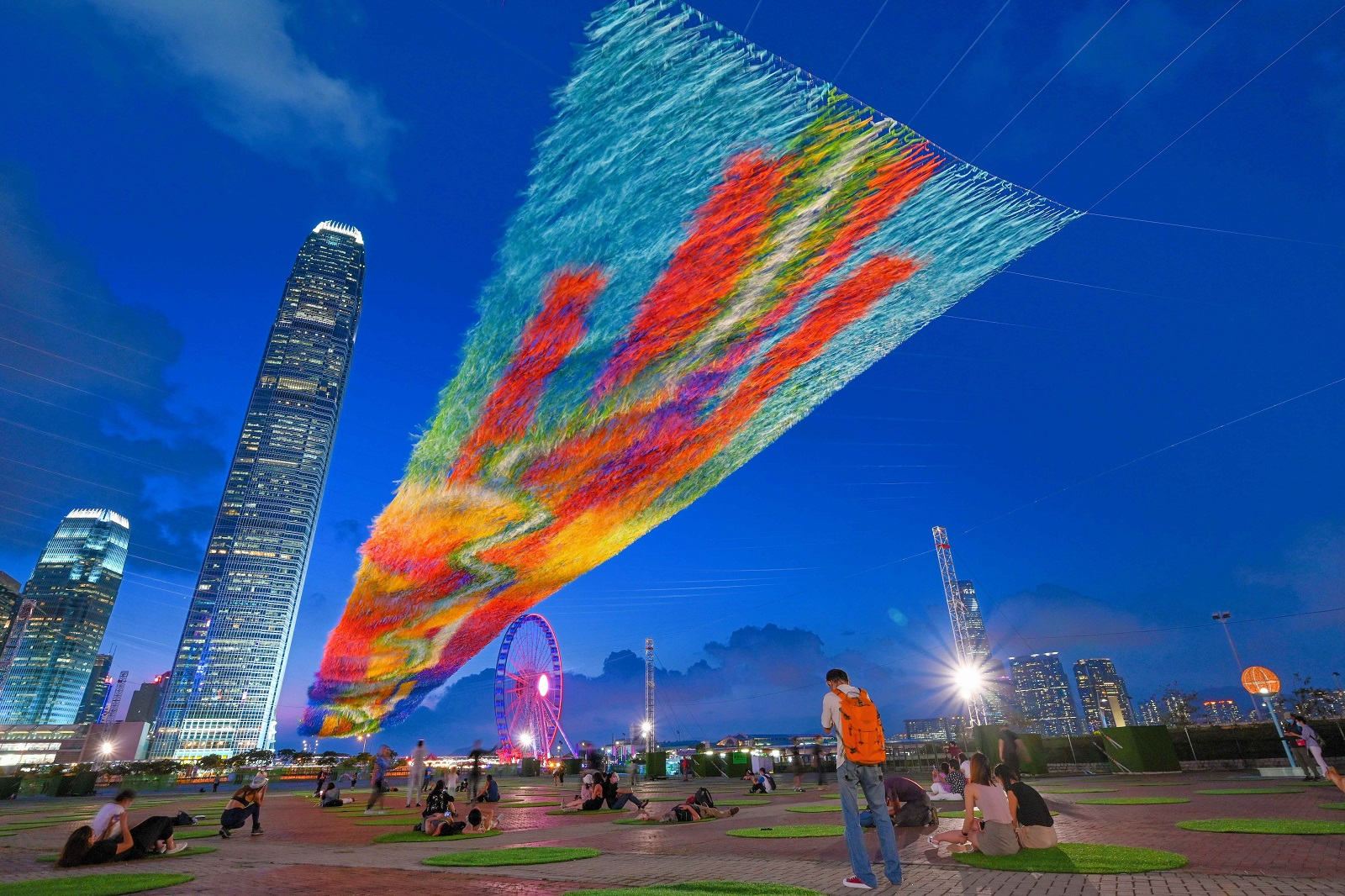 Design installation at Central Harbourfront. (2021)