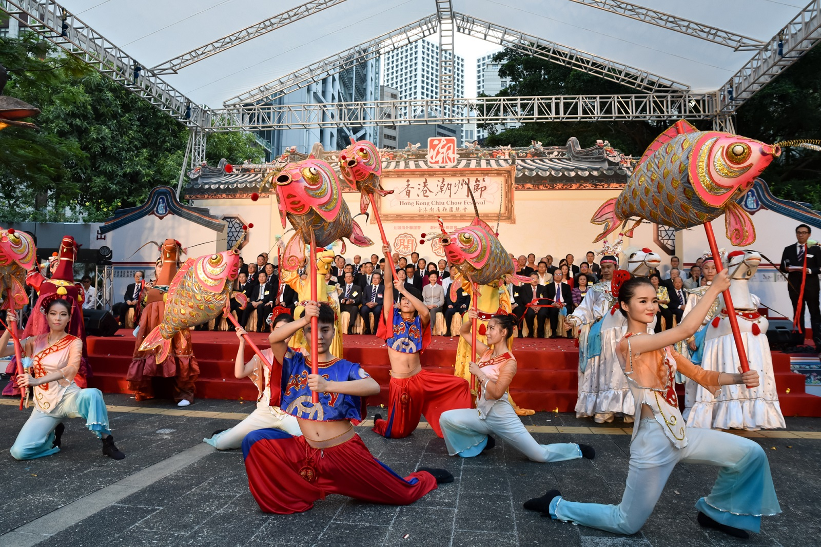 The Hong Kong Chiu Chow Festival in Central. (2017)