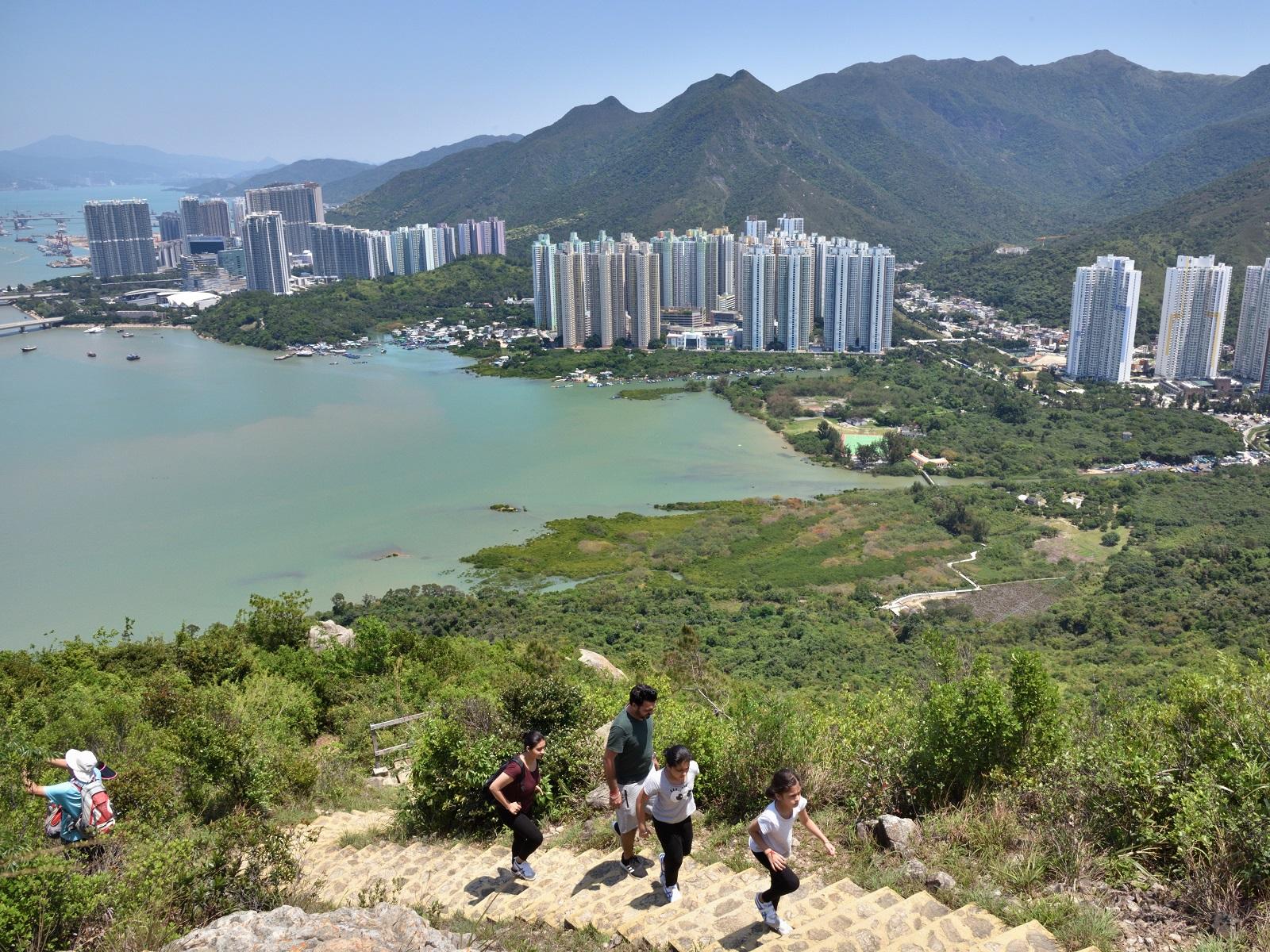Hong Kong has many easily accessible hiking trails. (2020)