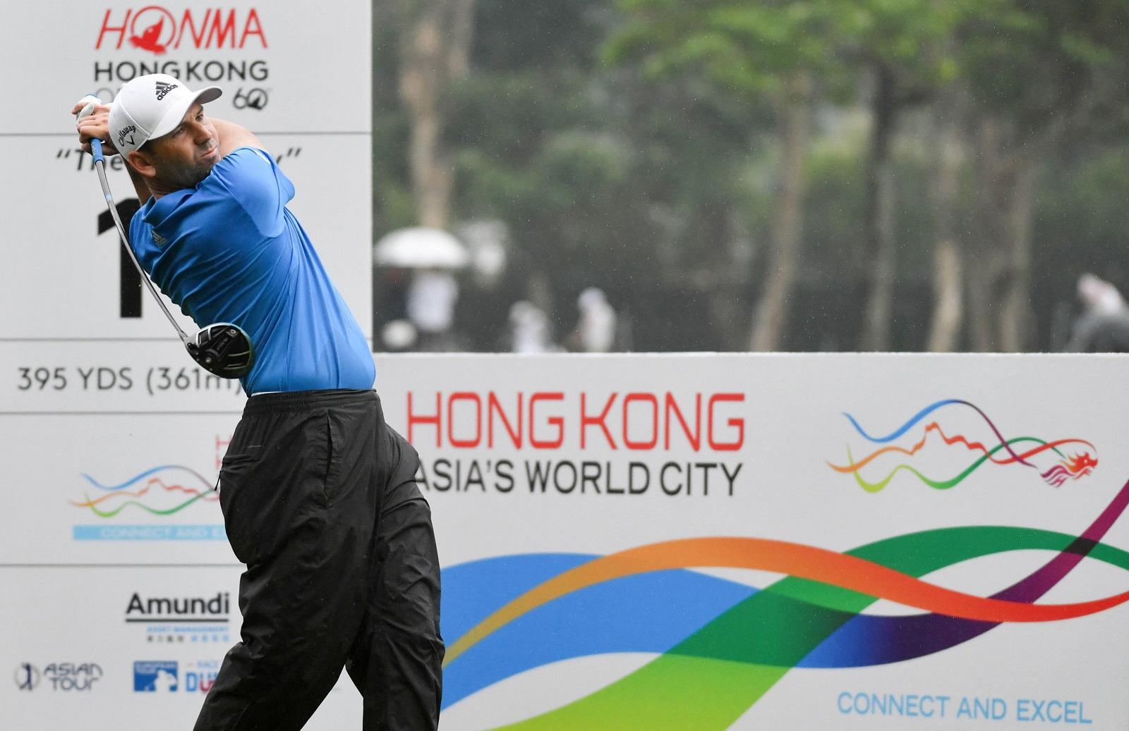 The Hong Kong Golf Open in Fanling, New Territories. (2020)