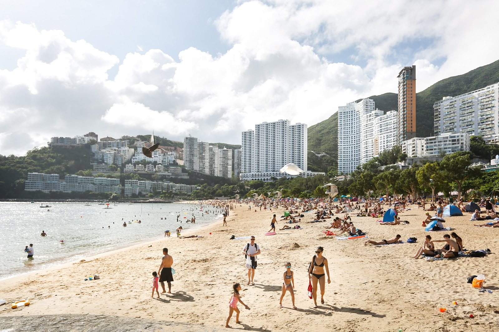 Repulse Bay Beach in Southern District. (2020)