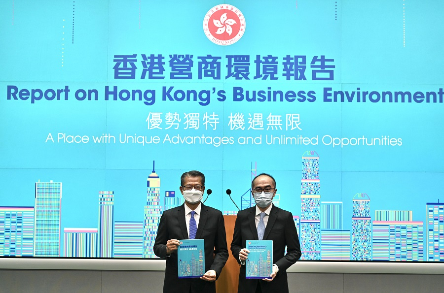 Business environment report published