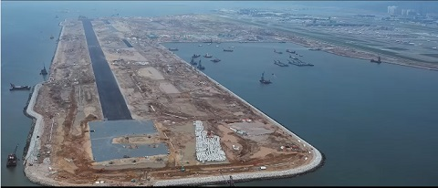 HK's new airport runway set for lift-off in 2022